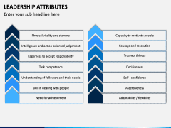 Leadership Attributes PPT Slide 13