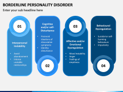 Borderline Personality Disorder (BPD) PPT Slide 9