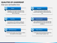 Qualities of Leadership PPT Slide 11