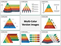 Customer Pyramid PPT Slide MC Combined