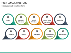 High Level Structure PPT Slide 18