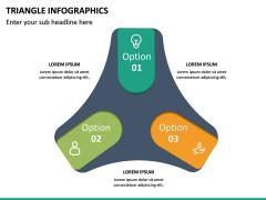 Triangle Infographics PPT Slide 18