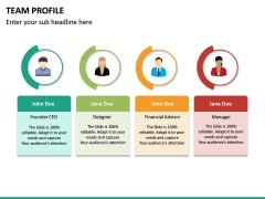 Team Profile PPT Slide 21