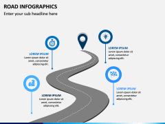 Road Infographics PPT Slide 7