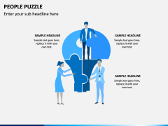 People Puzzle PPT Slide 3