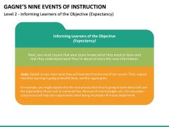 Gagne's Nine Events of Instruction PPT Slide 23