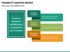 Feasibility Analysis Matrix PPT Slide 23