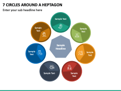 7 Circles Around a Heptagon PPT slide 2