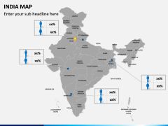 India Map PPT slide 5