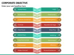 Corporate Objective PPT Slide 20