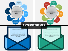 Communication Skills PPT Cover Slide