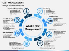 Fleet Management PPT Slide 1