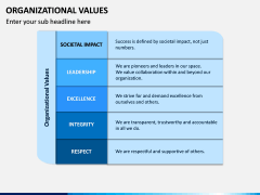Organizational Values PPT Slide 8