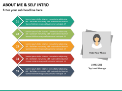 About Me / Self Intro PPT Slide 24