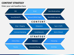 Content Strategy PPT Slide 1