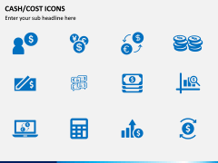 Cash Cost Icons PPT Slide 11