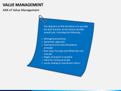 Value Management PPT Slide 7