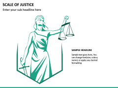 Scale of Justice PPT Slide 6