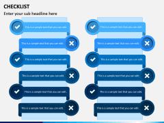 Checklist PPT slide 9