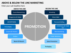 Above and Below the Line Marketing PPT Slide 10