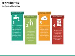 Key Priorities PPT slide 16