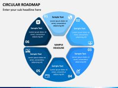 Circular Roadmap PPT Slide 12