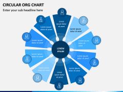 Circular ORG Chart PPT Slide 8