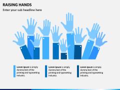 Raising Hands PPT Slide 3