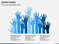 Raising Hands PPT Slide 6