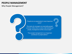People Management PPT slide 1