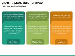 Short Term and Long Term Plan PPT Slide 31