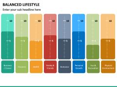 Balanced Lifestyle PPT Slide 19