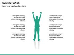 Raising Hands PPT Slide 23