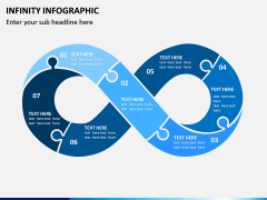 Infinity Infographics PPT Slide 1