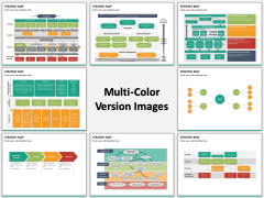 Strategy map multicolor combined