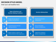 Decision Style Model PPT Slide 5