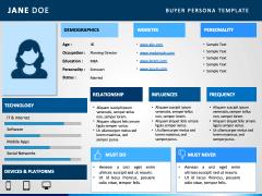 Buyer persona PPT slide 6