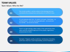 Team Values PPT Slide 7