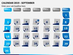 Calendar 2019 PPT Slide 9