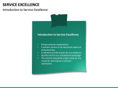 Service Excellence PPT Slide 16