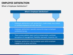 Employee Satisfaction PPT Slide 1