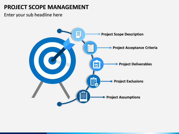 project scope management powerpoint template