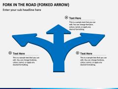 Fork in the Road PPT Slide 2