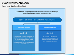 Quantitative Analysis PPT Slide 6
