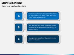 Strategic Intent PPT Slide 11