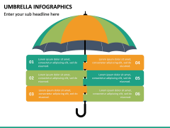 Umbrella Infographics PPT Slide 13