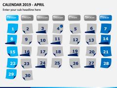 Calendar 2019 PPT Slide 4