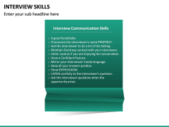 Interview Skills PPT Slide 17