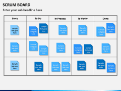 SCRUM Board PPT Slide 6