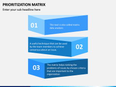 Prioritization Matrix PPT Slide 8